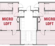 micro apartment shared space